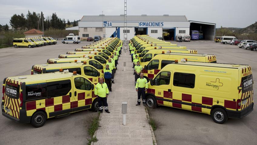 Ambulancias Martínez Robles.